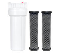 Water Filter w/ 2 Replaceable Cartridges (NEW)