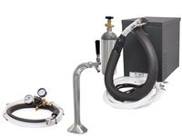Seltzer Home Soda Draft Arm (Snake) System with Compact Remote Chiller (R1000S)