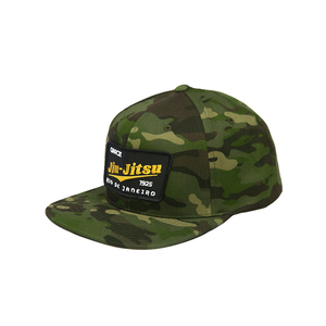 GJJ Team Patch Snapback Hat (Camo)