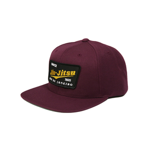 GJJ Team Patch Snapback Hat (Maroon)