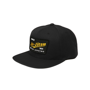 GJJ Team Patch Snapback Hat (Black)