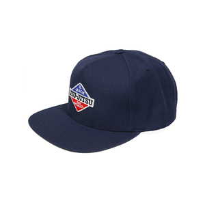 GJJ Duo Patch Snapback Hat (Navy)