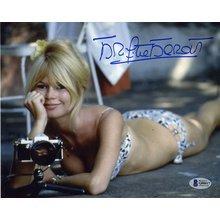 Brigitte Bardot Bikini Signed 8x10 Photo Certified Authentic Beckett BAS COA