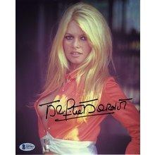 Brigitte Bardot Side Boob Signed 8x10 Photo Certified Authentic Beckett BAS COA