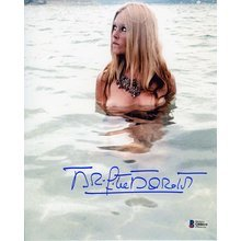 Brigitte Bardot Topless Signed 8x10 Photo Certified Authentic Beckett BAS COA