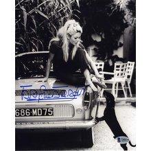 Brigitte Bardot Feet Signed 8x10 Photo Certified Authentic Beckett BAS COA