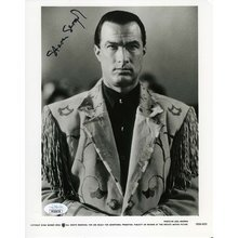 Steven Seagal On Deadly Ground Signed 8x10 Studio Photo Certified Authentic JSA COA