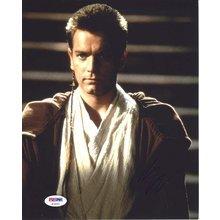 Ewan McGregor Star Wars Signed 8x10 Photo Certified Authentic PSA/DNA COA
