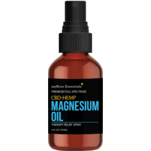 CBD/HEMP Pure Magnesium Oil (4 fl oz)