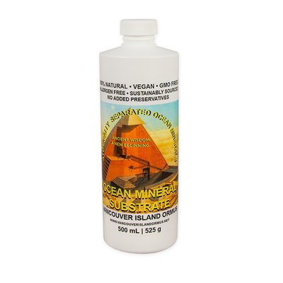Vancouver Island ORMUS Ocean Mineral Substrate, 500 ml