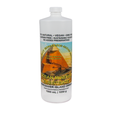 Vancouver Island ORMUS Ocean Mineral Substrate, 1 L