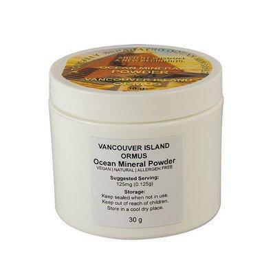 Vancouver Island ORMUS Ocean Mineral Powder, 30 Gram