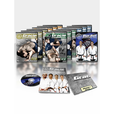 Gracie Combatives Standard DVD Package