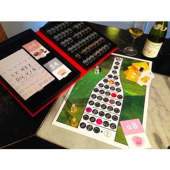 Le Nez du Vin Game Board