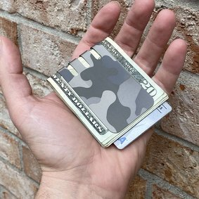 The VIPER™ money clip - CAMO on NASA Optical Gray Finish
