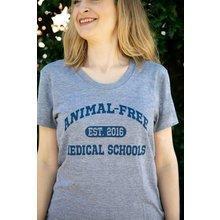 Animal-Free Medical Schools Est. 2016 T-shirt: Women's