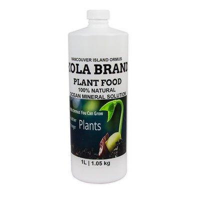 Vancouver Island ORMUS KOLA Brand Plant Stimulant, 1 Liter