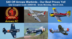 Arrows RC Warbirds