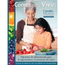 Healthy Eating For Life (Spanish Language)