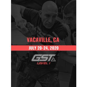 Level 1 Full Certification: Vacaville, CA (July 20-24, 2020) TENTATIVE