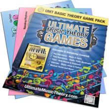 Basic Music Theory Game Pack