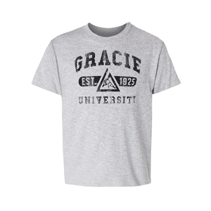 Kids Gracie University Tee (Gray)