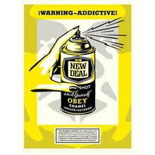 "Obey Giant ""Warning Addictive!"""