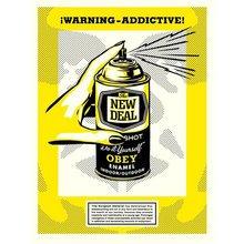 "Obey Giant ""Warning Addictive!"""