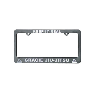 """Keep it Real"" License Plate Frame"