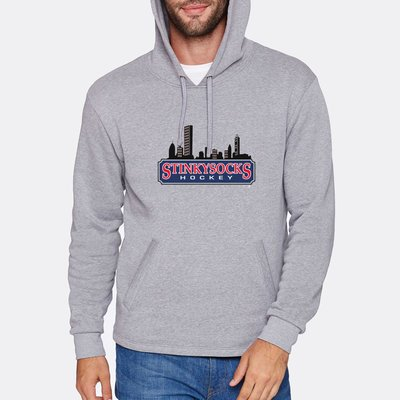 SSH Premium Cityscape Hoodie in Grey