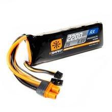 2200mAh 2S 6.6V Smart LiFe Receiver Battery; IC3
