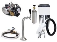Seltzer Draft Arm (Snake) Soda System w/ Lancer Remote Chiller (L1000s)