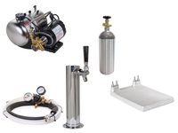 Seltzer Draft Arm (Cylinder) Soda System with Cold Plate (s1000c)