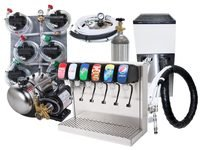 6-Flavor Tower Soda Fountain System w/ Remote Chiller (L3600)