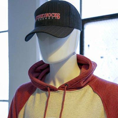 StinkySocks Hockey Pinstripe Hat