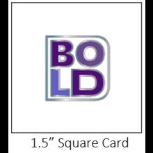 BOLD Enamel Pin