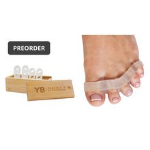 Awesome Toes!® Toe Spreaders (2-pair) & Wooden Box - PREORDER