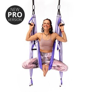 Yoga Trapeze® - Purple Pro version with Free Digital programs