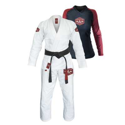 Gracie Lion Gi & Rashguard Set (Women)