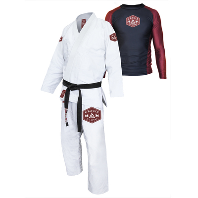 Gracie Lion Gi & Rashguard Set (Men)
