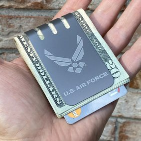 The VIPER™ Titanium Money Clip - UNITED STATES AIR FORCE