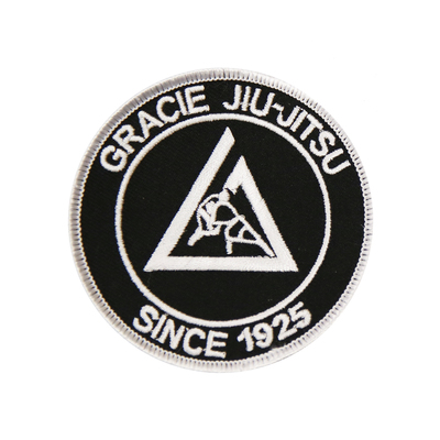 "(3x3"") Black Small Embroidered Gi Patch"