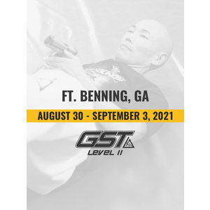 Level 2 Re-Certification: Ft. Benning, GA (August 30 - September 3, 2021)