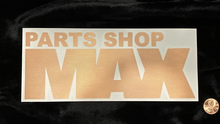 "MAX Logo Sticker 8"" COPPER"