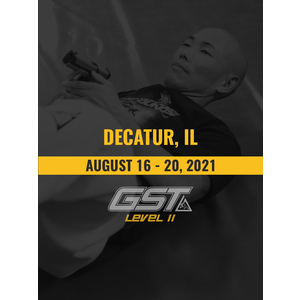 Level 2 Full Certification: Decatur, IL (August 16-20, 2021)