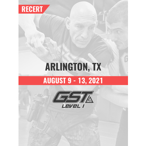 Recertification: Arlington, TX (August 9-13, 2021)