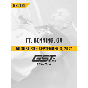 Level 2 Recertification: Ft. Benning, GA (August 30 - September 3, 2021)