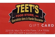 $50 Teet's Gift Certificate