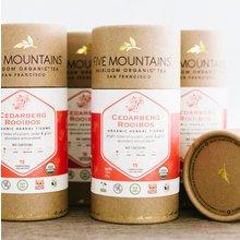 Organic Cedarberg Rooibos: 6 Tubes/15 Sachets Each *Best By: