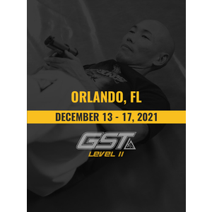 Level 2 Full Certification: Orlando, FL (December 13-17, 2021)